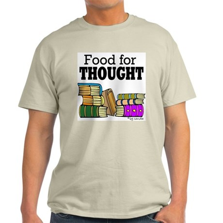 Food for Thought Ash Grey T-Shirt