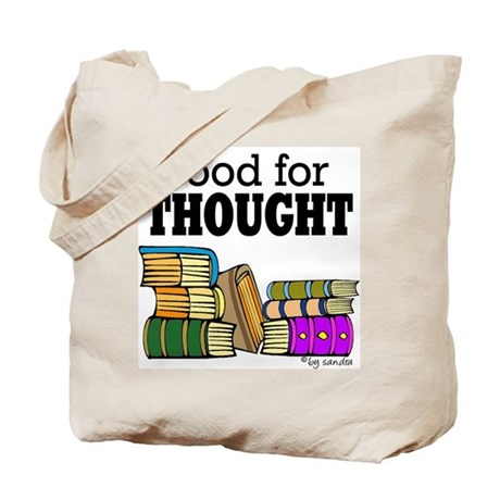 Food for Thought Tote Bag