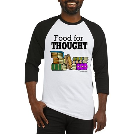 Food for Thought Baseball Jersey