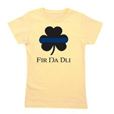 BLUELINE_pocket_gaelic Girl's Tee