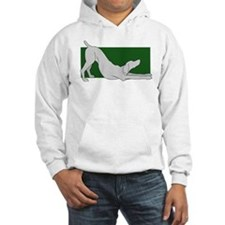 Stretching Weim 2 Sided Hoodie