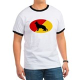 German Flag Shepherd T