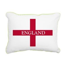 NC English Flag- England Rectangular Canvas Pillow