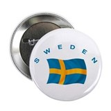 Flag of Sweden 2.25&quot; Button
