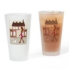 MN_Doggy_5x7 Drinking Glass