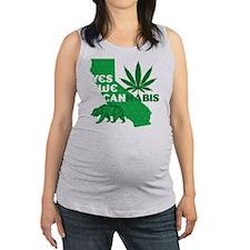 yesweCANnabis Maternity Tank Top