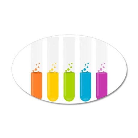 Chemistry Test Tubes Wall Decal