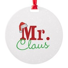 Christmas Mr Personalizable Ornament