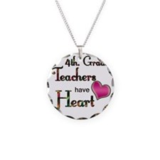 Teachers Have Heart 4 Necklace