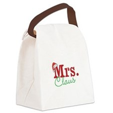 Christmas Mrs personalizable Canvas Lunch Bag