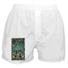 Lord Pacal the Rocket Man Boxer Shorts
