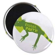 Iguana Party Magnet