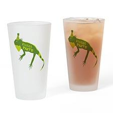 Iguana Party Drinking Glass