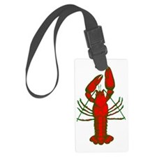 crawfish Luggage Tag