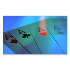 Four Aces -- Winning Hand Decal