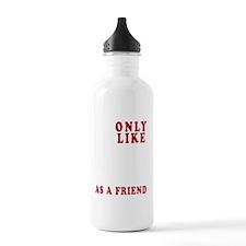 I ONLY LIKE NY dark Water Bottle