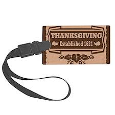 Established 1621 Thanksgiving Luggage Tag