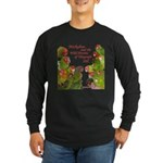 Wild Parrots Long Sleeve Dark T-Shirt