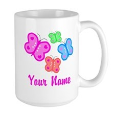 Butterflies Personalized Mugs