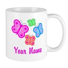 Butterflies Personalized Mugs