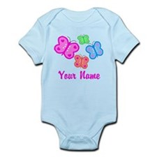 Butterflies Personalized Body Suit