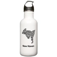new-haven-orko-poster- Sports Water Bottle