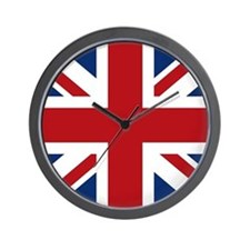 union-jack_sb Wall Clock