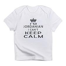 I Am Jordanian I Can Not Keep Calm Infant T-Shirt