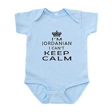 I Am Jordanian I Can Not Keep Calm Infant Bodysuit
