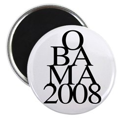 "Layers: Obama 2008 2.25"" Magnet (10 pack)"