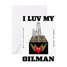 I Luv My Oilman 2a BC use A4 using Greeting Card