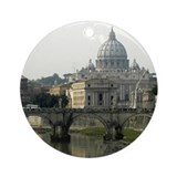Vatican City Ornament (Round)