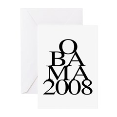 Layers: Obama 2008 Greeting Cards (Pk of 10)