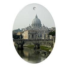 Vatican City Oval Ornament