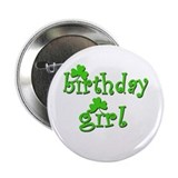 Irish Birthday Girl Button