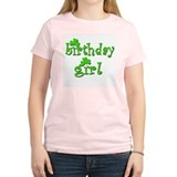 Irish Birthday Girl Women's Pink T-Shirt