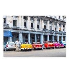 Cars of Havana Postcards (Package of 8)