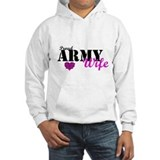 Army Wife Pink Jumper Hoody