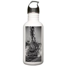 Vintage Steam Train Sports Water Bottle