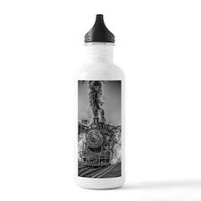 Vintage Steam Train Water Bottle