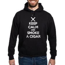 Keep Calm and Smoke a Cigar Hoodie