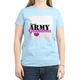 Army Grandma Women's Pink T-Shirt