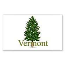 Vermont Rectangle Decal