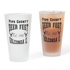 Varsity Deer Fest Drinking Glass