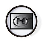 Freak Enterprises Metallic logo Wall Clock
