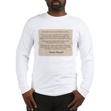 Long Sleeve T-Shirt: Roosevelt patriotism