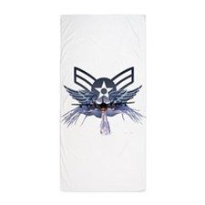 Air Force Power Beach Towel