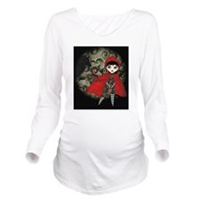 red_hood_postal Long Sleeve Maternity T-Shirt