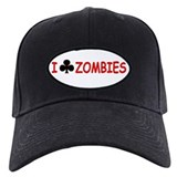 """I Club Zombies"" Baseball Hat"