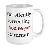 Grammar Coffee Mugs